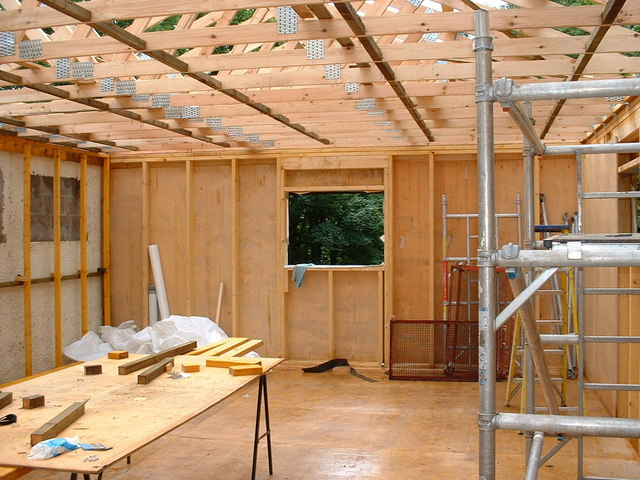 Remodeling Contractor Minneapolis MN - Your Interrior and Exterior Remodeling Contractors in Brooklyn Park MN - Remodeling Addition with a Worktable and Tools
